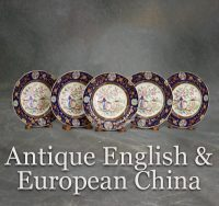 Antique English & European China