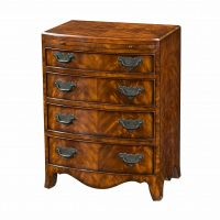 Reproduction Mahogany Chest