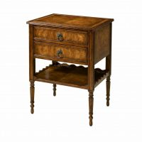 Reproduction 2 Drawer Table