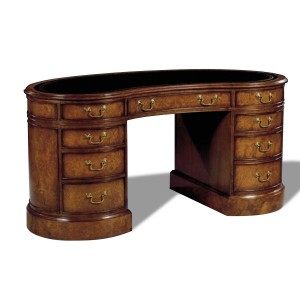 Reproduction Myrtle Kidney Shaped Desk
