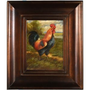 Oil Painting – Rooster