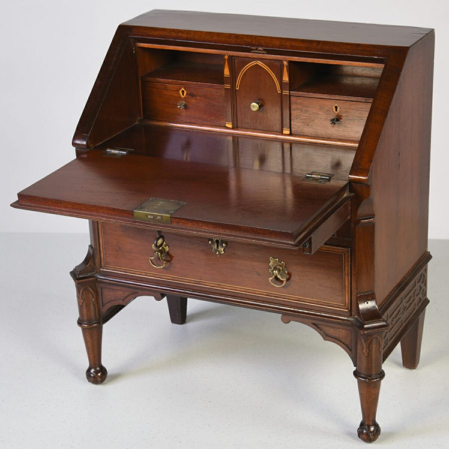 Antique English Miniature Bureau