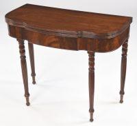 Antique English Mahogany Tea Table