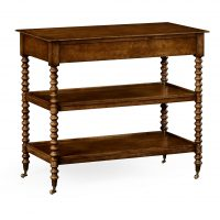 Reproduction English Walnut Occasional Table