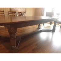 Vintage Oak Refectory Table