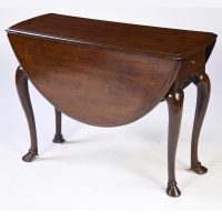 Antique English Mahogany Drop Leaf Table