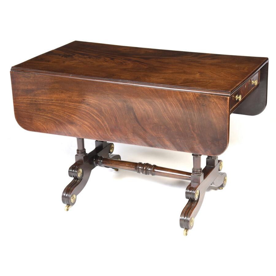 Antique English Mahogany Sofa Table
