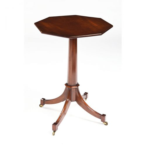 Antique English Mahogany Wine Table